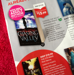 dymocks catalogue chasing the valley