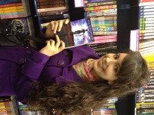 The moment when I found Chasing the Valley in a bookstore for the first time!