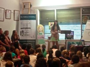 Speaking at The Children's Bookshop